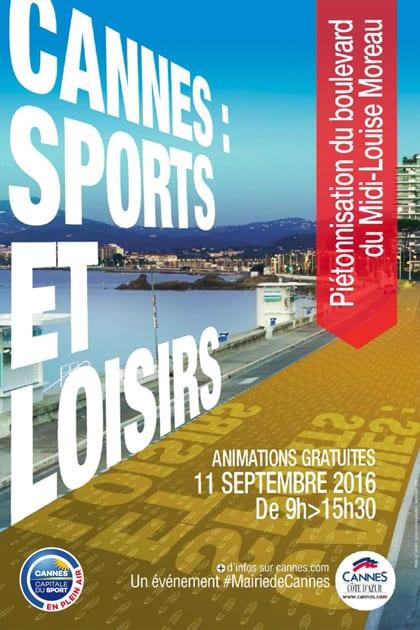 Cannes capitale du sport en plein air 11 septembre 2016