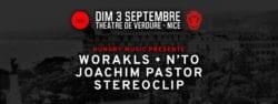 cannes tendances Worakls, N'to, Joachim Pastor, & Stereoclip theatre de verdure nice music festival