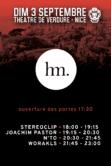 cannes tendances Worakls, N'to, Joachim Pastor, & Stereoclip theatre de verdure nice music festival festival musique electronique cotes d azur