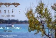 opening tamaris plage palm beach